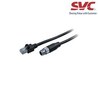 Cáp - Cable GigE M12X/RJ45, STP 20m, flex