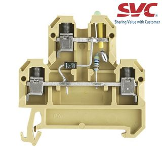Cầu đấu dòng SAK - DK 4/35 LD GR 24VDC