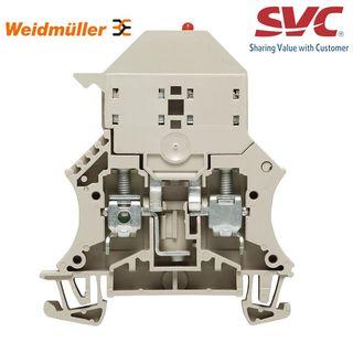Cầu đấu dây Domino dạng bắt vít kèm cầu chì - WSI 6/LD 10-36V DC/AC