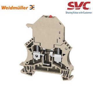 Cầu đấu dây Domino dạng bắt vít kèm cầu chì - WSI 6/LD 250AC