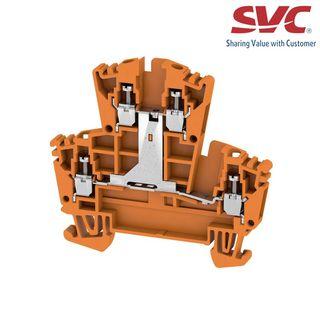Cầu đấu dây domino thường Feed-through - WDK 25V OR