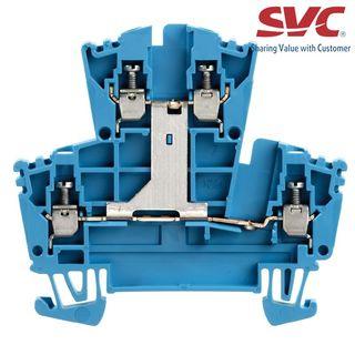 Cầu đấu dây domino thường Feed-through - WDK 25V BL