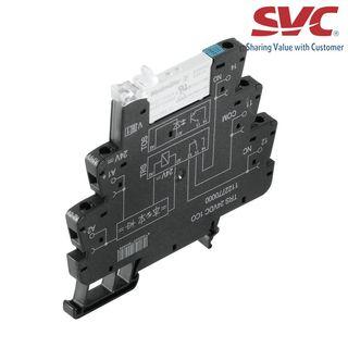 PLC Relay (Rơ le mỏng) kết nối vặn vít - TRS 5VDC 1CO AU