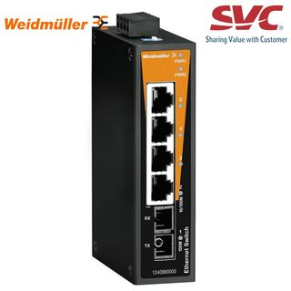 Bộ chia mạng Unmanaged Switch - IE-SW-BL05-4TX-1SCS