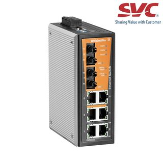 Bộ chia mạng Managed Switch - IE-SW-VL08MT-6TX-2ST
