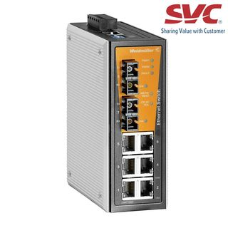 Bộ chia mạng Managed Switch - IE-SW-VL08MT-6TX-2SCS