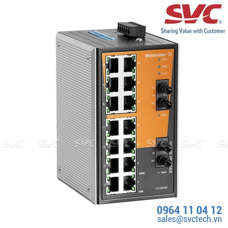 Bộ chia mạng Unmanaged Switch - IE-SW-VL16-14TX-2ST