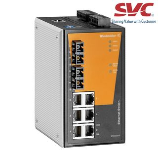 Bộ chia mạng Managed Switch - IE-SW-PL08M-6TX-2SC