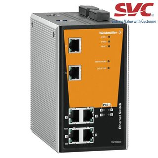 Bộ chia mạng Managed Switch - IE-SW-PL06M-2TX-4POE