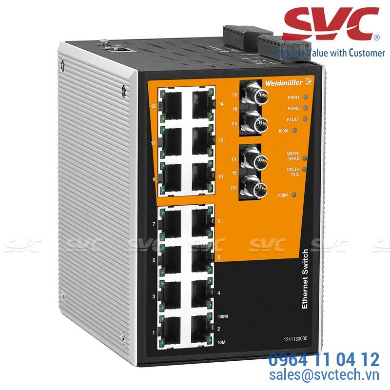 Bộ chia mạng Managed Switch - IE-SW-PL16MT-14TX-2ST