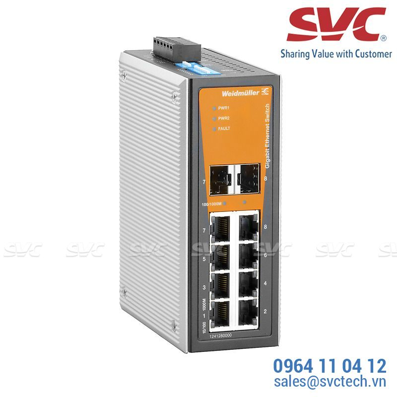 Bộ chia mạng Unmanaged Switch - IE-SW-VL08T-6GT-2GS