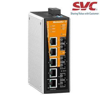 Bộ chia mạng Managed Switch - IE-SW-VL08MT-5TX-1SC-2SCS