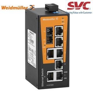 Bộ chia mạng Unmanaged Switch - IE-SW-BL08-7TX-1SC