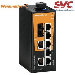 Bộ chia mạng Unmanaged Switch - IE-SW-BL08-7TX-1ST