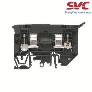 Cầu đấu dây Domino dạng bắt vít kèm cầu chì - WSI 4/2/LD 140-250V AC/DC