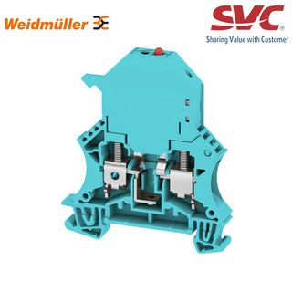 Cầu đấu dây Domino dạng bắt vít kèm cầu chì - WSI 6/LD 10-36V BL