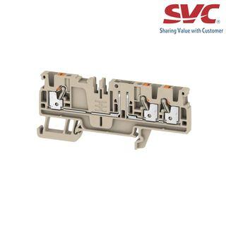 Cầu đấu dây domino dạng cắm có dao cách ly - ADT 25 3C W/O DTLV