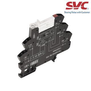 PLC Relay (Rơ le mỏng) kết nối dạng kẹp - TRZ 120VAC RC 1CO AGSNO