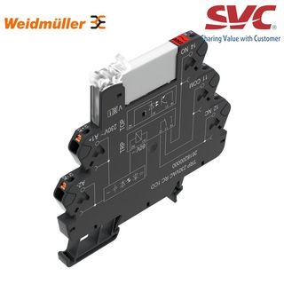 PLC Relay (Rơ le mỏng) kết nối dạng cắm - TRP 120VAC RC 1CO AGSNO
