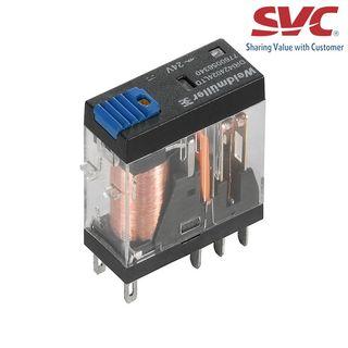 Relay (Rơ le) 8 chân 2CO D-Series có đèn LED, diode và nút test - DRI424110LTD